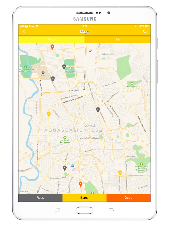 CervezApp- screenshot