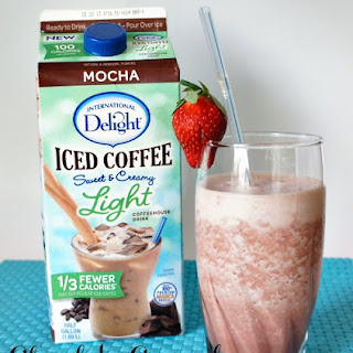 Chocolate Covered Strawberry Frappe.