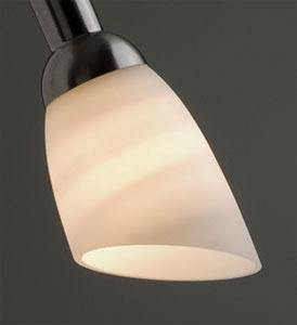 Vitt reservglas för Ljusdusch