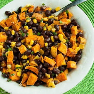 Sweet Potato, Black Bean and Corn Salad.