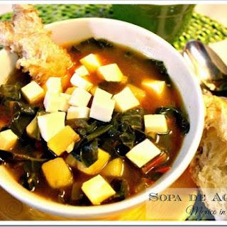 Swiss Chard and Potato Soup / Sopa de Acelgas con Papas