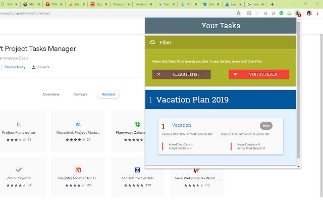 Tamer Project Tasks Manager