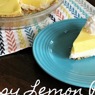 Easy Lemon Pie.