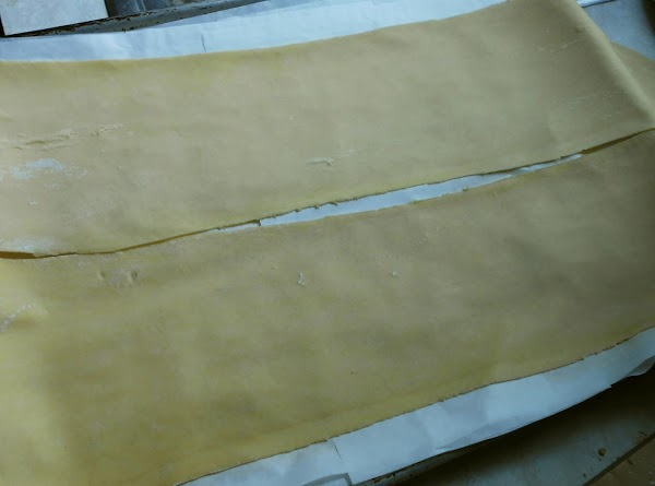 To make homemade pasta see link.  It's the same dough and method I...