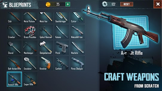 Last Survivor Diaries – Zombie Survival Apk Mod (God Mod+Hit Kill+Free Craft) 1