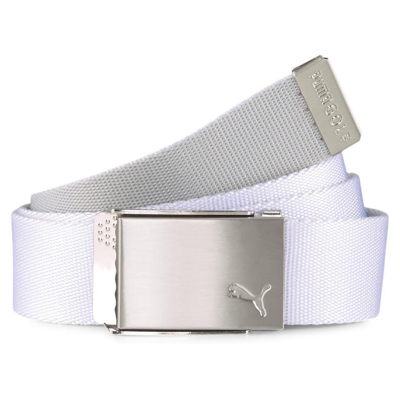 Skärp - Puma Golf Reversible Belt Vit