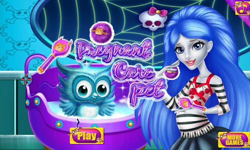 Monster Pregnant Care pet