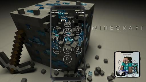 Lock Screen for Minecraft Fans 1.5 screenshots 1