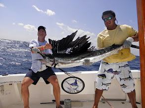 Photo: March SAilfish season,Kianah and Grand Slam,Accurate, Jigging rods, Deep sea fishing Cancun, Sportfishing Cancun, Isla Mujeres, MX, Avet Reels, Alutecnos Reels, Jigging Cancun, Braid Jiggs, Speed Jigging, Williamson Jiggs, Pakula lures, Moldcraft lures, Islander Lures,  Kianah, Grand Slam, fishing cancun, sailfishing cancun, Dorados, isla, Alutecnos Reels, OTI, Ocean tackle International,   http://www.deepseafishingcancun.com/  http://www.deepseafishingcancun.com/links.htm  http://www.facebook.com/profile.php?id=100001729483186