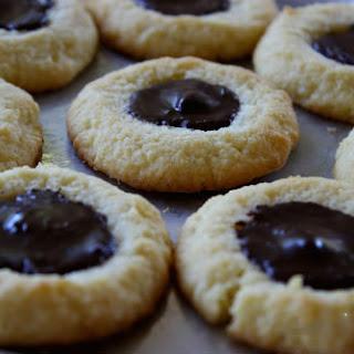 Grain Free Thumbprint Cookies.