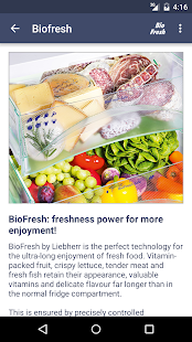 Liebherr BioFresh- screenshot thumbnail