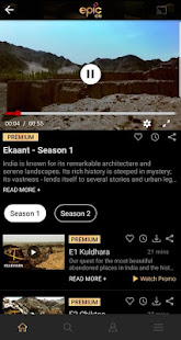 App EPIC ON - Watch TV Shows, Specials, Shorts & Video APK for Windows Phone