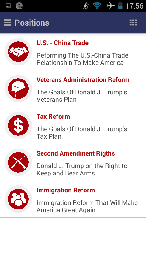 Donald Trump 2016- screenshot