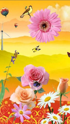玫瑰和蝴蝶