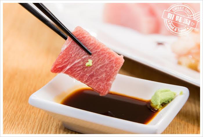 大手町日本料理無菜單料理黑鮪魚刺身