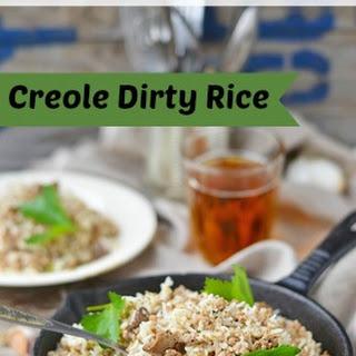 Creole Dirty Rice.