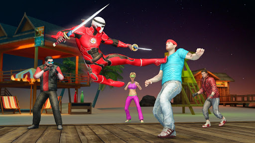 Ninja Superhero Fighting Games: City Kung Fu Fight 5.9 screenshots 6