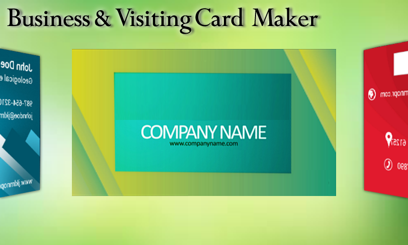 Business &Visiting Cards Maker Android Apps on Google Play