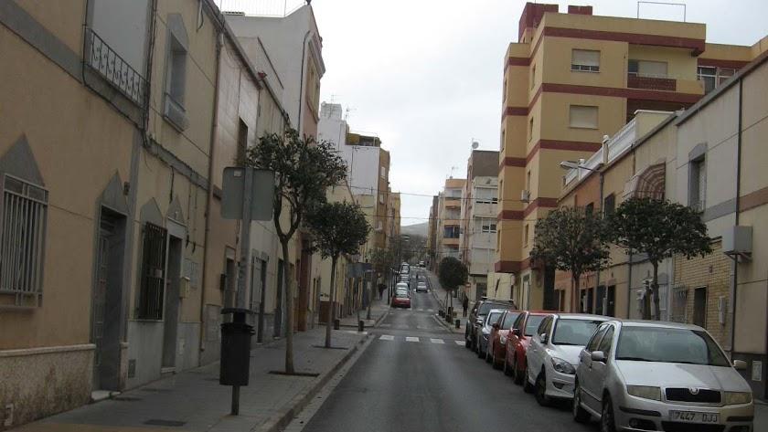 Imagen de archivo de una calle de Los Ángeles.