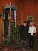 Photo: Su Ipolitu Makulavičiumi prie senojo minbaro :)