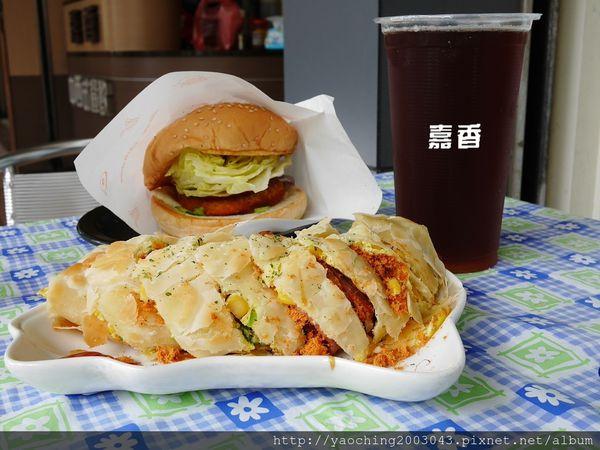 台中南屯 嘉香中西式早餐,大業國中對面的人氣早餐屋,種類多且平價廣受學子喜愛