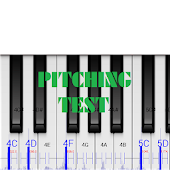 Pitching Test with piano