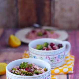 Detox Salad | Beet Barley Broccoli Salad
