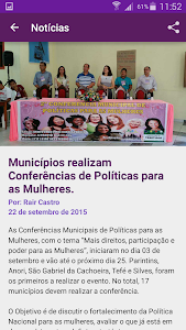 Portal da Mulher Amazonense screenshot 2