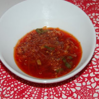 Monochromatic Red Soup.
