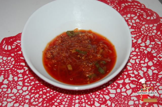 Monochromatic Red Soup