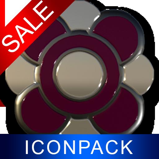 Bordeaux Dragon HD Icon Pack