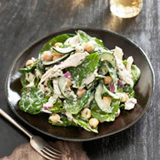 Chicken & Chick Pea Salad.