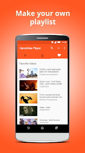 Handsfree Player for YouTube- screenshot thumbnail