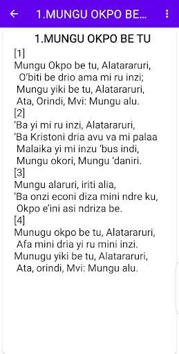 Lugbara Hymns screenshot 3