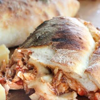 BBQ Chicken Calzone.