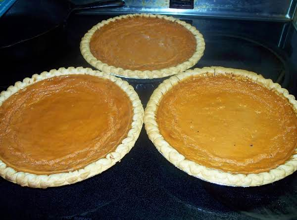 Grandma Rose's Carrot Pie Recipe