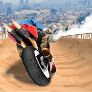 Impossible Mega Ramp Moto Bike Rider Stunts Racing