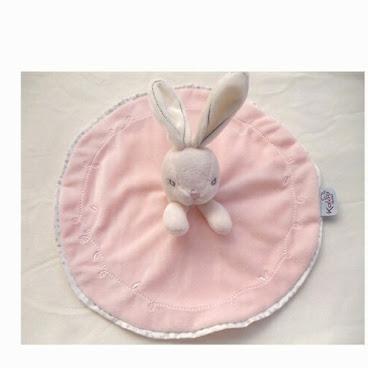 超柔軟粉嫩貴族兔安撫巾T440現貨包郵