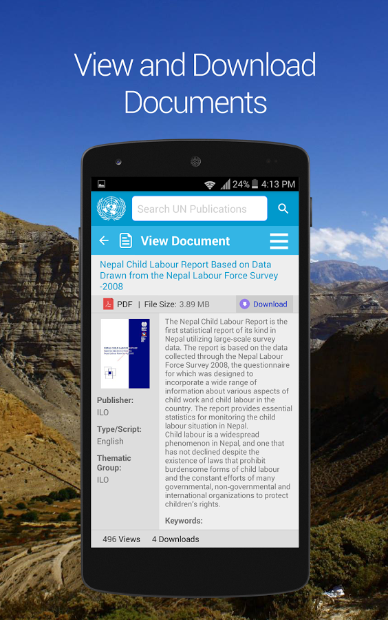 UN in Nepal- screenshot