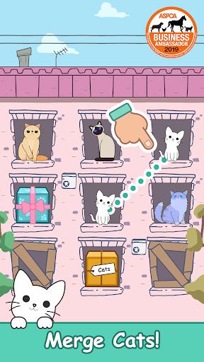 Cats Tower - Merge Kittens!  captures d'écran 1