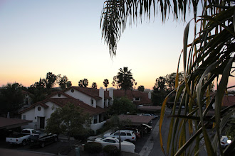 Photo: Sunset view from Master Balcony