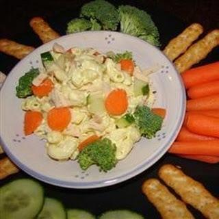 Summertime Tuna Pasta Salad.