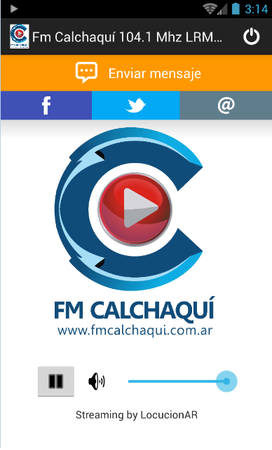 Fm Calchaquí 104.1 Mhz LRM947- screenshot