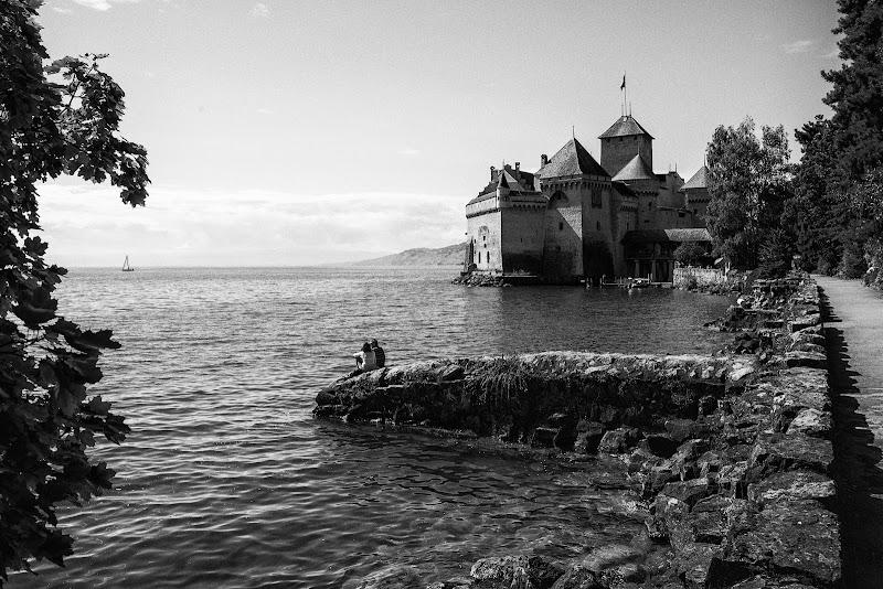 Le chateau de Montreux, Swisse (fragment d'un discours amoureux). di paolo_scelfo