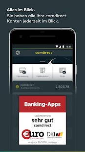 comdirect Screenshot