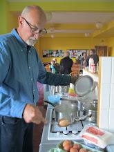 Photo: In de keuken van Dun Flodigarry Hostel