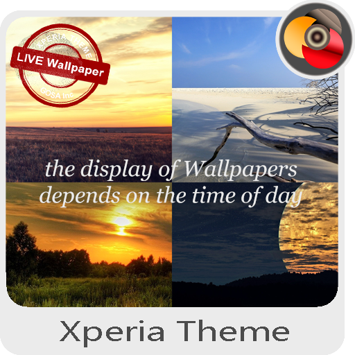 summer   Xperia™ Theme - different Wallpapers