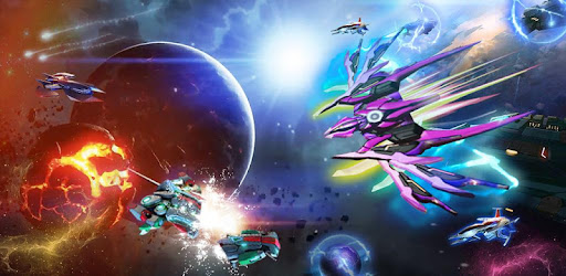 Galaxy Shooter-Space War Shooting Games Mod Apk 1.2.2