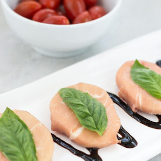 Prosciutto Wrapped Mozzarella with Basil Recipe