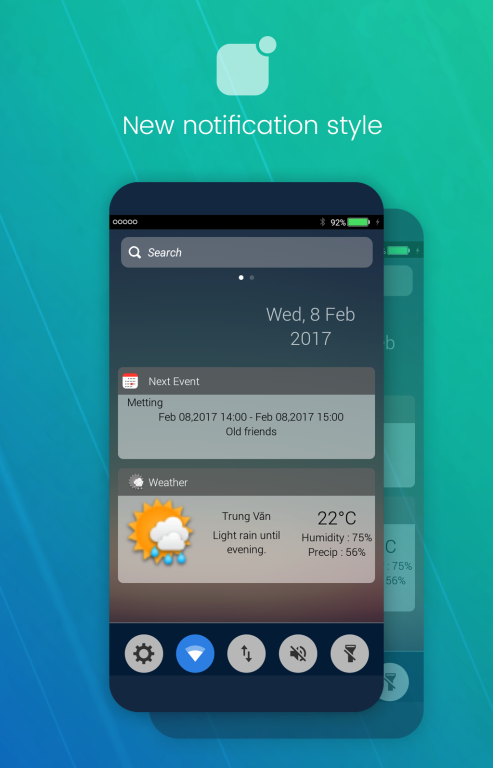 Download iNoty - iNotify OS 10 APK latest version by Vechupa